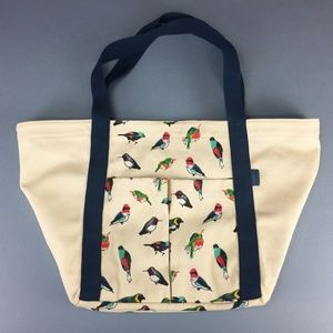 Vera Bradley Cotton Canvas Beach Tote TODY BIRD